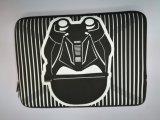 sacchetto del computer portatile del manicotto del computer portatile personalizzato 14inch con i reticoli