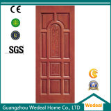 Porte en bois solide/porte composée de bois de construction pour des hôtels