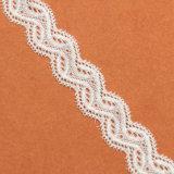 Guarnizione chimica del merletto di disegno di modo, tessuto del merletto