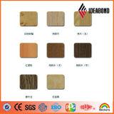 Алюминиевый композиционный материал с деревянной отделкой