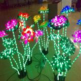 Luces del árbol de la decoración LED de la Navidad con varia dimensión de una variable