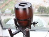 Barril de cerveza de madera de roble 3L con el trazador de líneas del acero inoxidable