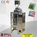 白砂糖または塩またはコーヒーまたはミルクまたはココナッツ粉3の側面のパック機械