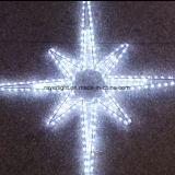 LED de ocho puntas estrella decoración Luces de Navidad