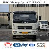 camion di trasporto del costipatore dell'immondizia del diesel dell'euro 4 di 3cbm Dongfeng