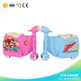 2017 New Model 3wheels Kids Luggage Case Scooter Kids Sliding Suitcase