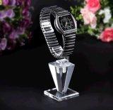 Support acrylique d'étalage de montre d'espace libre spécial de type avec le cercle de C