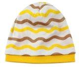 100%の綿の赤ん坊のかわいい縞の新しい帽子