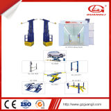 Guangliの工場セリウムは移動可能な油圧が車の上昇を切る自動車修理のツールの高品質を承認した