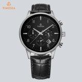 Preiswerte kundenspezifische Form-Uhr-Leder-Armband-Uhr mit Soem Logo72310