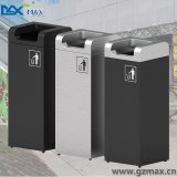 Square New Design Nouveauté Sanitary Waste Stainless Steel Dust Bin