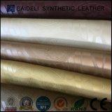 소파와 가구를 위한 돋을새김된 PVC 합성 가죽