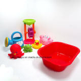 赤ん坊の浴室の一定の柔らかいプラスチックビニールのおもちゃは子供のためにセットした