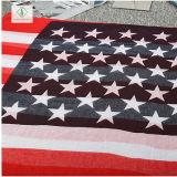 2018 новой моды леди вискоза шаль с Америки флаг печати