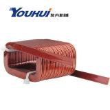 Bobina de cobre do núcleo do ar para o indutor
