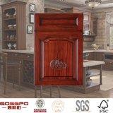 Europäischer Art-Glanz-hölzerne Küche-Schranktüren (GSP5-007)