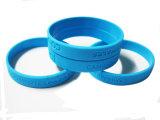 Logo personnalisé gravé Bracelets en Silicone pour cadeau promotionnel