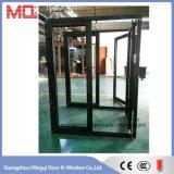 Porte et guichet en verre en aluminium Guangzhou de la meilleure qualité doubles