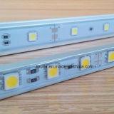 5050 SMD LED Bande avec coque en aluminium rigide le logement