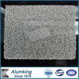 Material de construcción para la decoración usar la espuma de plata del aluminio del color