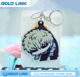 Kundenspezifischer Schlüsselhalter-Acrylschlüsselketten-Karikatur-Schlüsselring-Förderung-Geschenk
