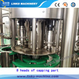 Línea de relleno del mineral plástico automático de la botella/del agua potable