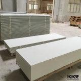 Em acrílico branco puro de superfície sólida para decoração