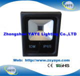 Luz de inundación de la MAZORCA 20W LED de la venta de Yaye 18 reflector de la luz/20W LED/del túnel calientes de la MAZORCA 20W LED con Ce/RoHS