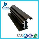Profil en aluminium personnalisé par porte de avancement d'alliage d'aluminium de guichet de la Chine