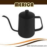 きれいになること容易600mlステンレス鋼のブラックコーヒーの鍋