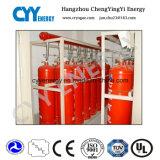 Nahtloser Stahl-Feuerbekämpfung-Gas-Zylinder mit den verschiedenen Kapazitäten