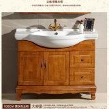 Vanité réglée en bois de Module de salle de bains de Soild