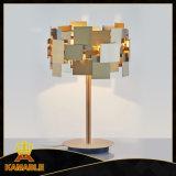 Vender a quente de aço inoxidável moderna iluminação de mesa (KA00156T-1)