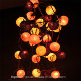 عيد ميلاد المسيح زخرفة بيتيّة [مولتيكلور] [كتّون بلّ] [لد] خيط ضوء