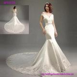 Выполнено на заказ с платьев венчания Mermaid плеча Bridal
