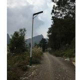 30W todo en una luz de calle solar integrada del jardín de la yarda de la lámpara del LED