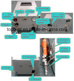 Strumentazione d'erogazione automatica tenuta in mano del robot del fissaggio a vite di Saltare-Fed