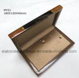 Caixa de presente de madeira da grande capacidade da caixa do estilo do vintage com preço de fábrica