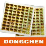Etiqueta engomada de epoxy cristalina de encargo del precio barato confiable funcionando durable de la calidad