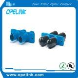 Adaptador Duplex&#160 da fibra óptica;