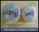 Filtros de engranzamento do fio do aço inoxidável/filtro de engranzamento tecido do fio