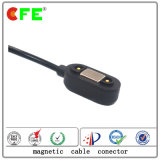 Connettore di cavo di carico maschio magnetico rettangolare 2pin