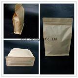 Papierbeutel-Papier-Fastfood- Beutel mit Reißverschluss