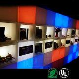 Asiento Cube con el amortiguador asiento acolchado-Square LED, resistente a la intemperie con WiFi remoto