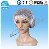 Casquillos Bouffant disponibles no tejidos de la enfermera de /Mob para quirúrgico