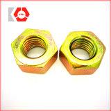 ASTM A193 Gr. B7 / A194 Gr. 2h Trozo perno con tuercas hexagonales