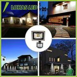 [Nuovo disegno] 100W impermeabilizzano gli indicatori luminosi di inondazione esterni bianchi freddi del sensore di movimento LED