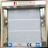 Panneau en aluminium d'obturateur industriel de rouleau glissant les portes sectionnelles (Hz0-FC0124)