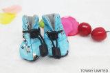 Winter Velvet Dog Rain Boot Waterproof Pet Shoes