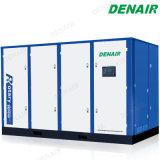 40 bares de presión alta Tipo de compresor de aire de tornillo rotativo para minería